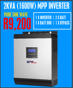 2KVA (1600W) PACKAGE